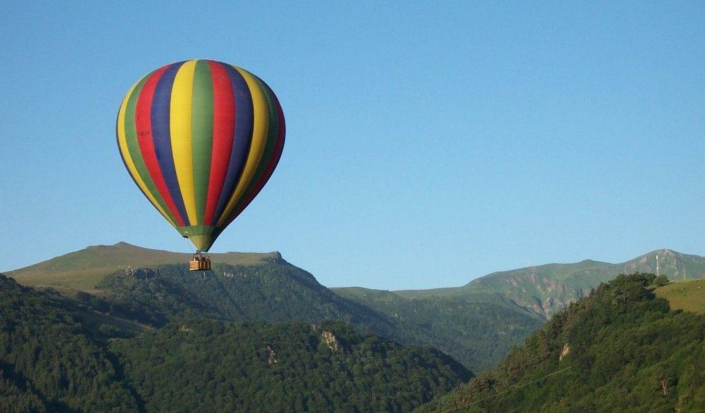 vol montgolfiere sancy